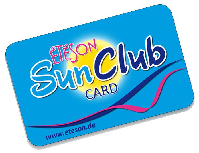 Étéson SunClub: Online-Aktion